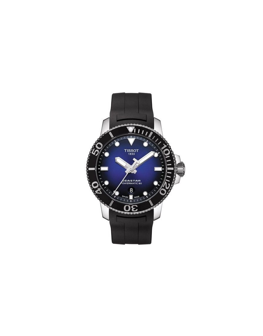 T120.407.17.041.00 - TISSOT SEASTAR 1000 AUTO blue/blk Rub