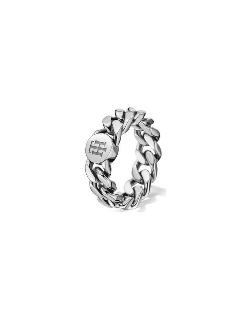 2700966C - Anel chain prateado 14