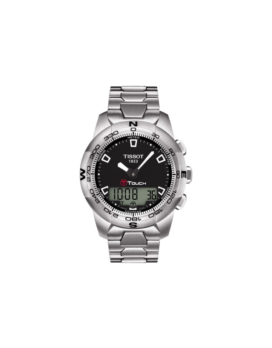 T047.420.11.051.00 - TISSOT T-TOUCH II Black/Steel