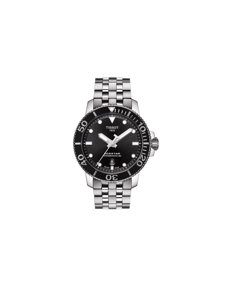 T120.407.11.051.00 - TISSOT SEASTAR 1000 AUTO black/steel
