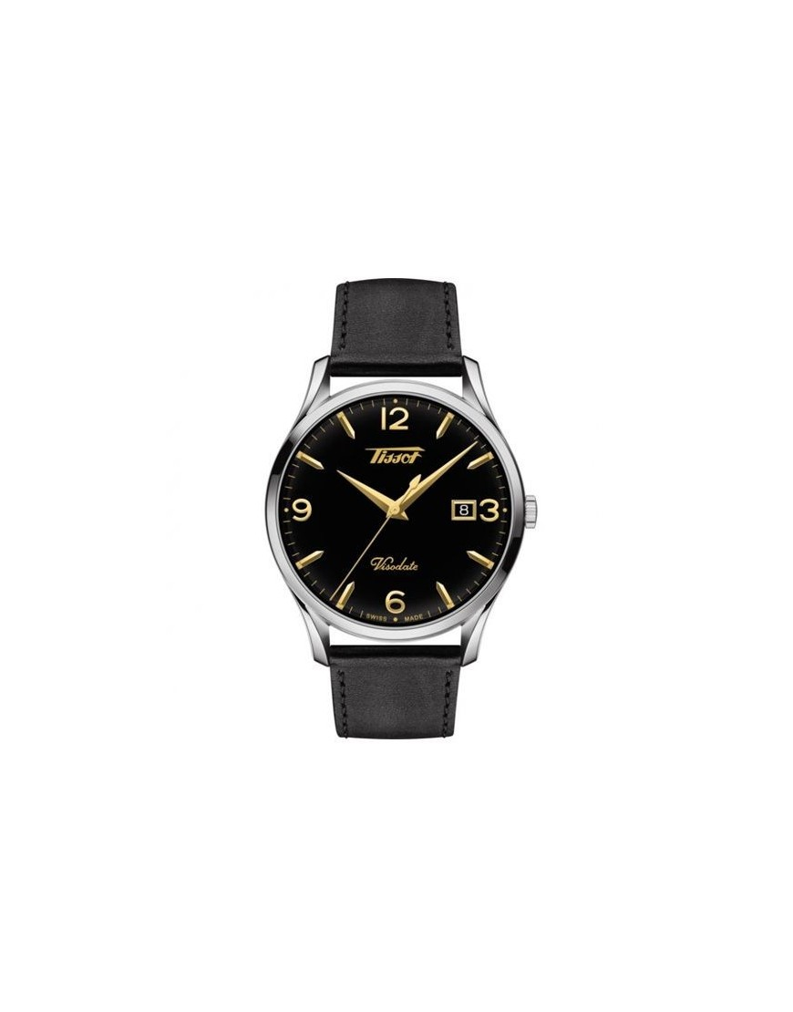 T118.410.16.057.01 - Tissot Visodate black/black GLD indexes