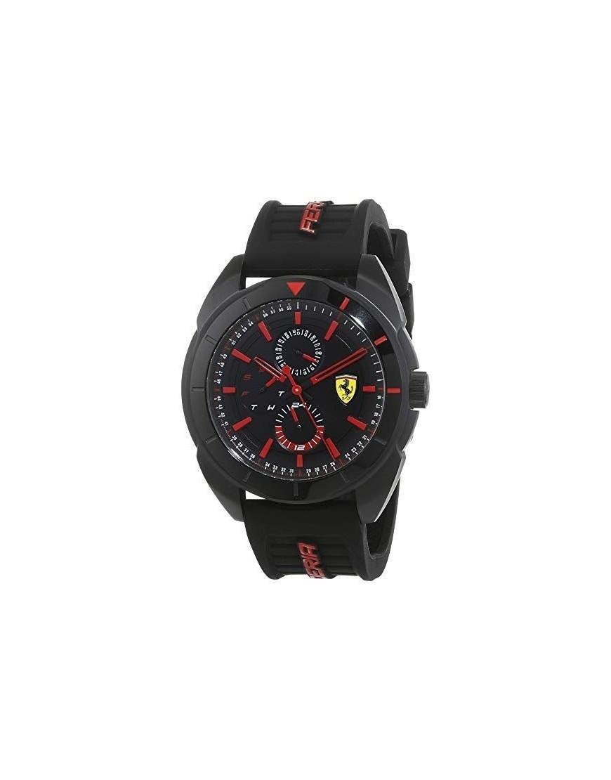 830547 - SF Forza Chr Red Di Blk PVD/Blk Sili Str