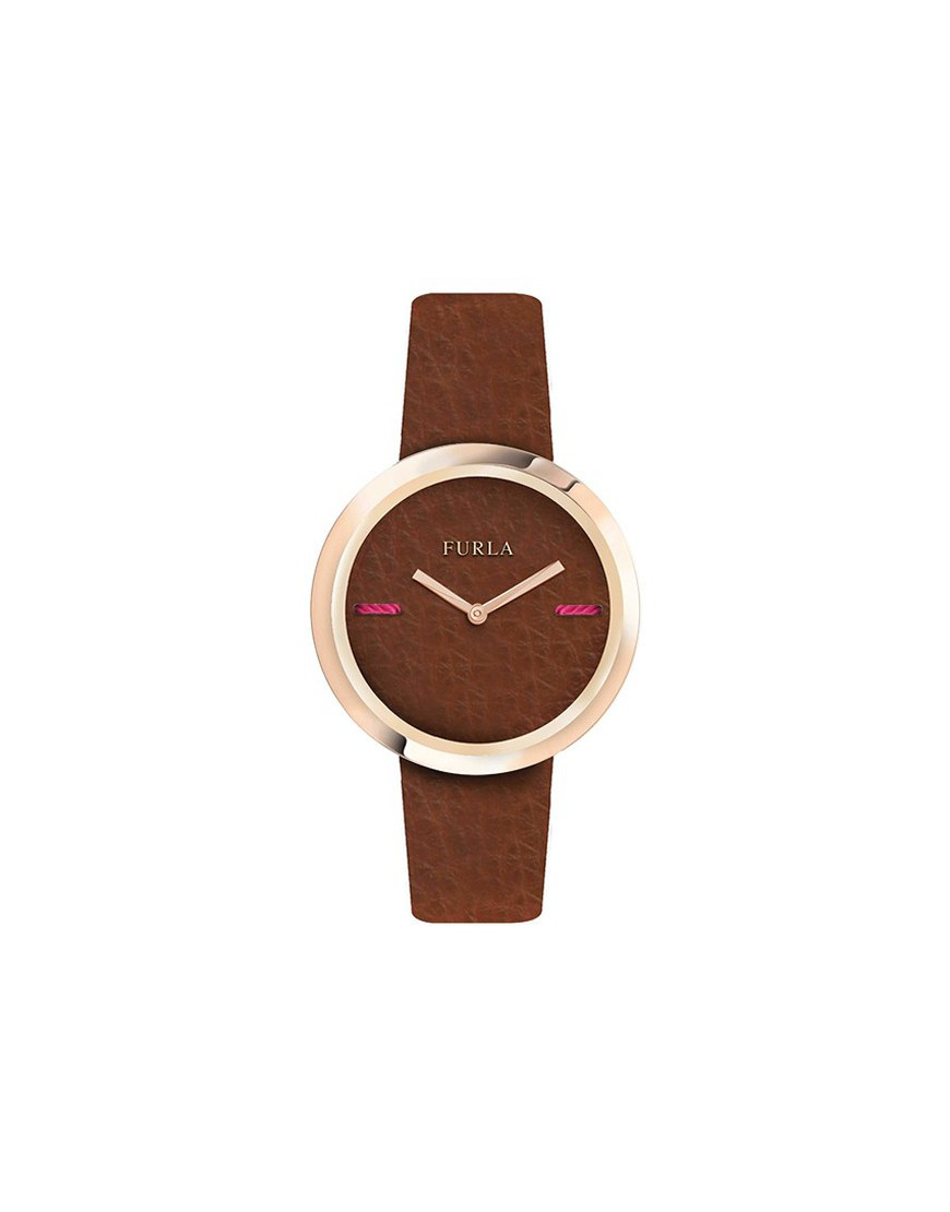 R4251110508 - MY PIPER 34mm 2H BROWN DIAL BROWN STRAP
