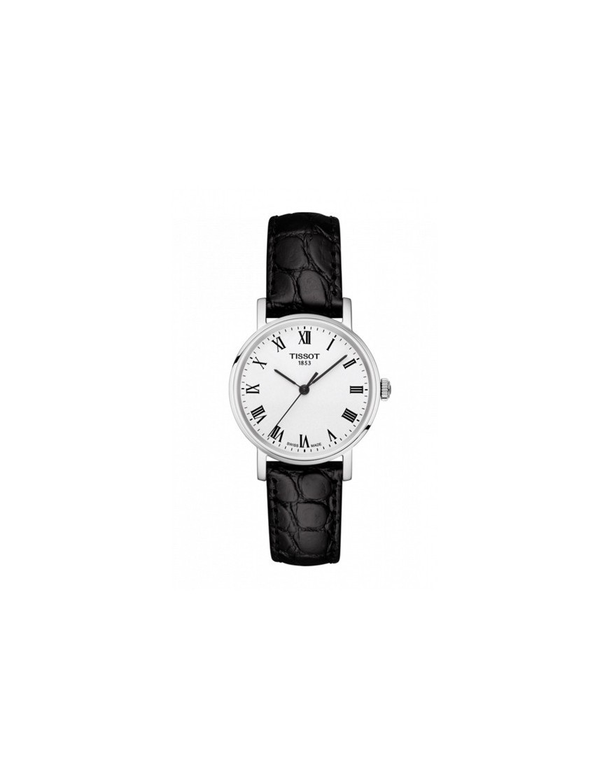 T109.210.16.033.00 - TISSOT EVERYTIME LADY white/blk Leather