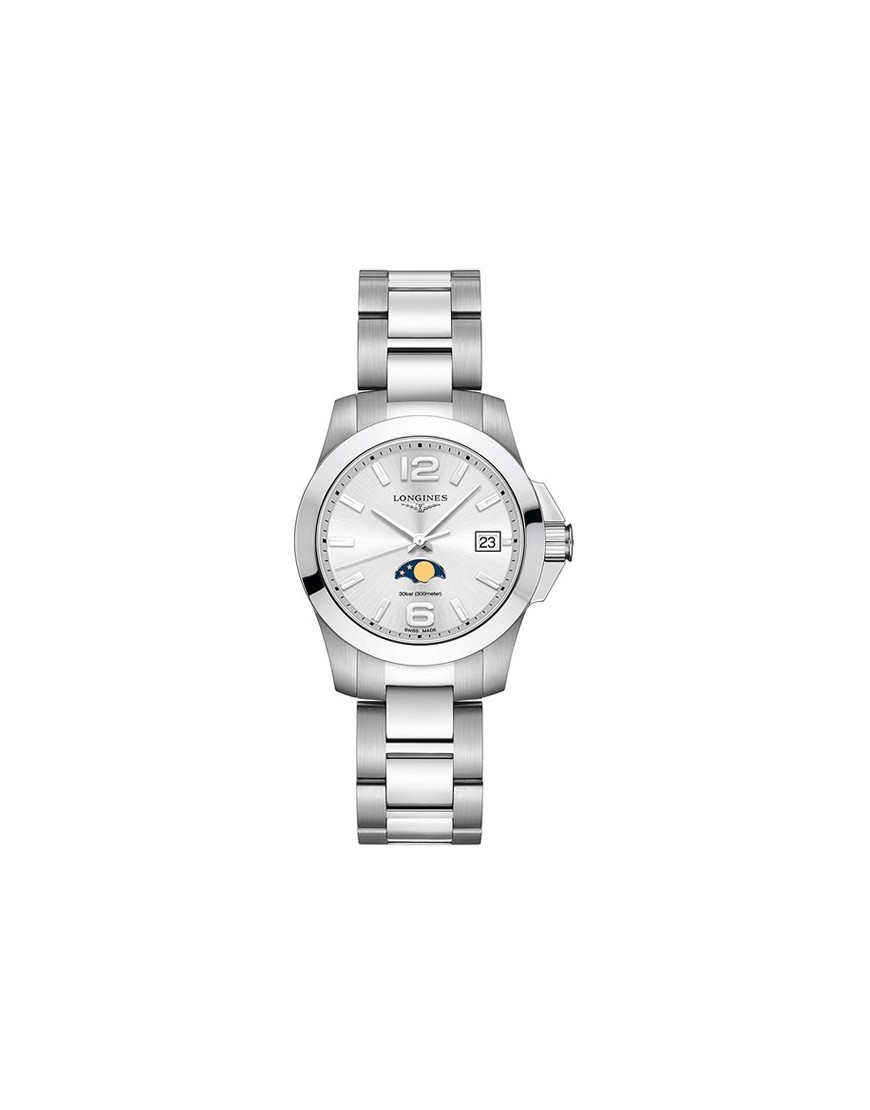 L33814766 - Longines Conquest Lady moon Fase 34mm