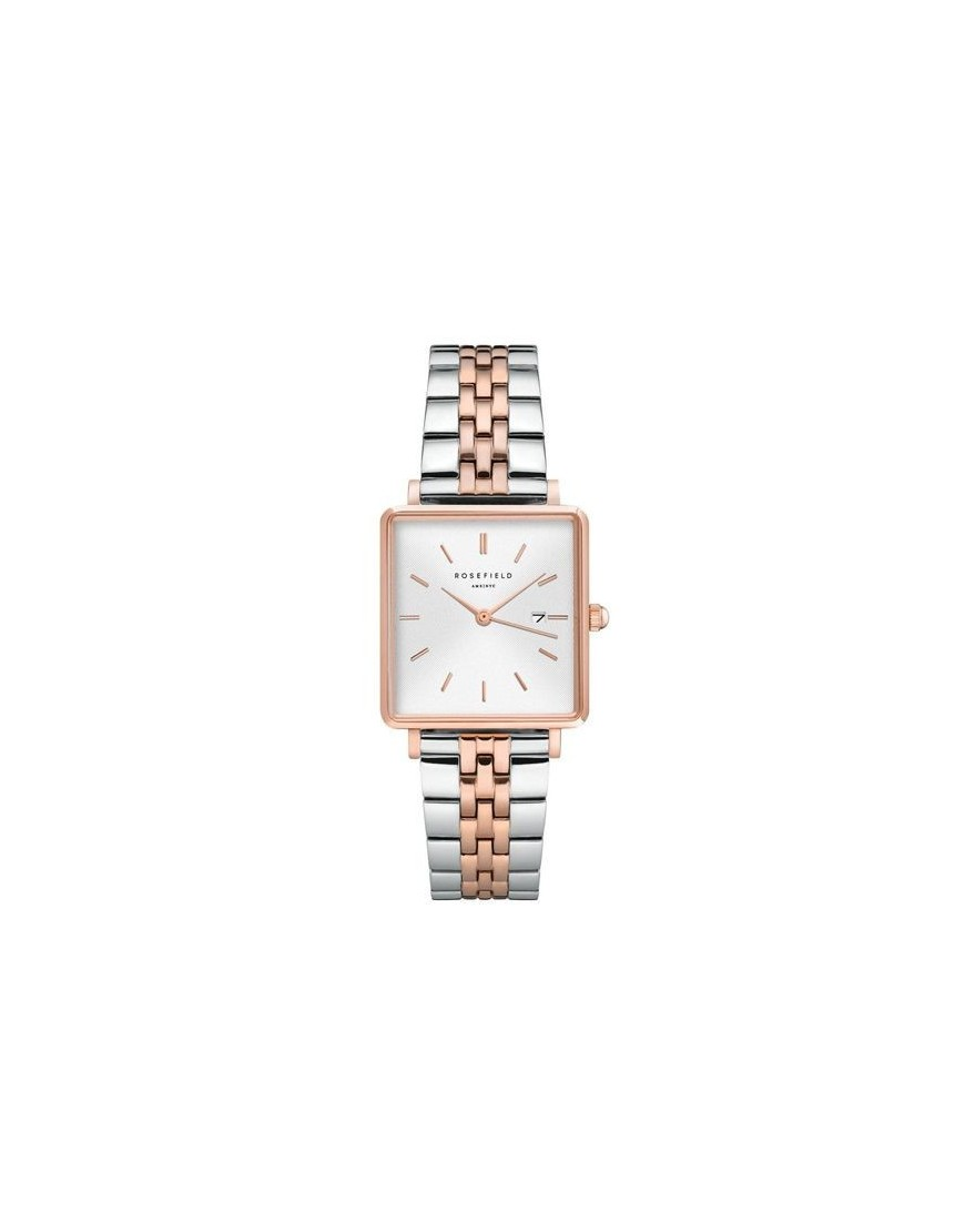 QVSRD-Q014 - The Boxy White Sunray Silver Rosegold Du