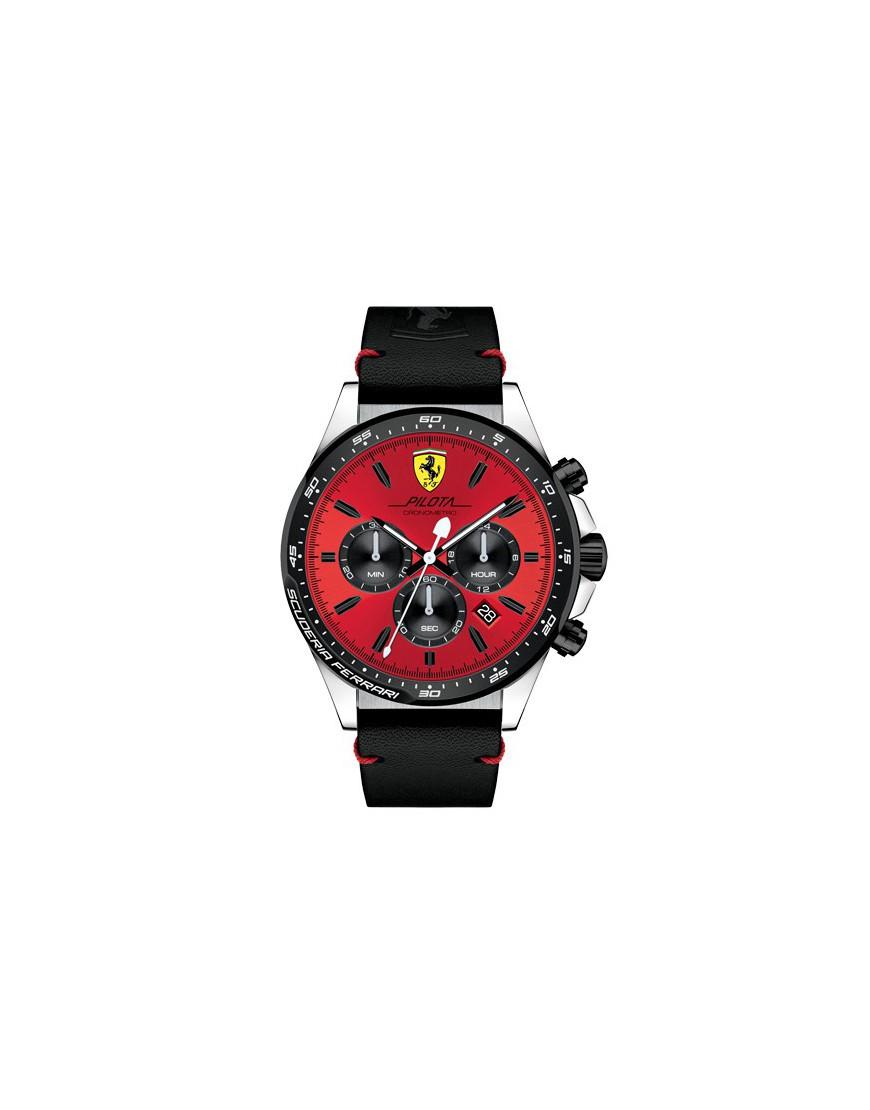 830496 - SF Red Rev Red-Bk Di PVD/Red-Blk Sil Str