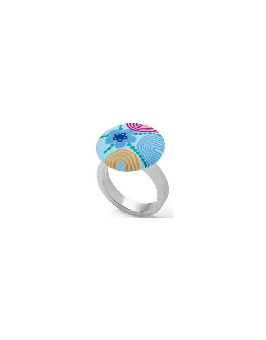 JRS036-5 - PAINT IN CIRCLES RING SIZE - 5 - SS07