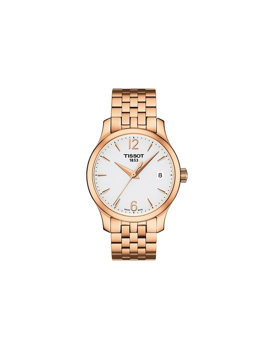 T063.210.33.037.00 - Tissot Tradition Lady Wht/PVD